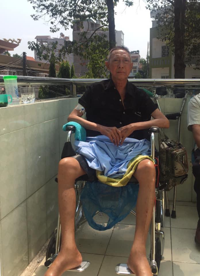 Nghệ sĩ Lê Bình bệnh trở nặng, bị liệt nửa người-1