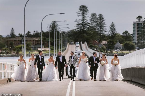 Choáng với siêu đám cưới 23 tỷ toàn kim cương và pha lê của cặp đồng tính nam-4