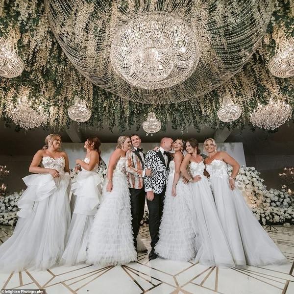 Choáng với siêu đám cưới 23 tỷ toàn kim cương và pha lê của cặp đồng tính nam-7