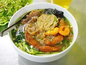 Bún cá cay, món ăn mang hương vị riêng của đất Cảng