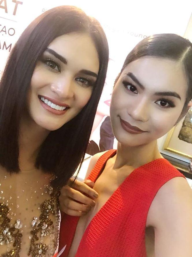 Đừng tưởng Hoa hậu Hoàn vũ Pia lùn mà dễ chặt, rất nhiều mỹ nhân Việt đình đám thần thái vẫn kém xa cô ấy-9