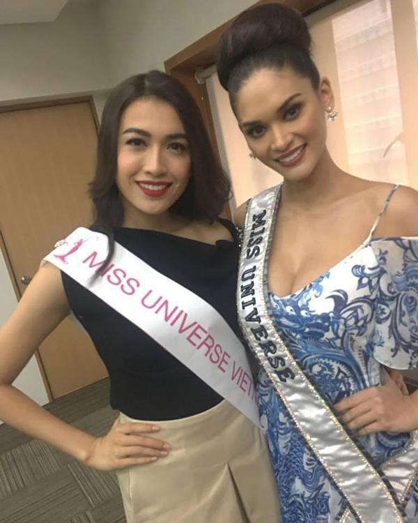 Đừng tưởng Hoa hậu Hoàn vũ Pia lùn mà dễ chặt, rất nhiều mỹ nhân Việt đình đám thần thái vẫn kém xa cô ấy-3