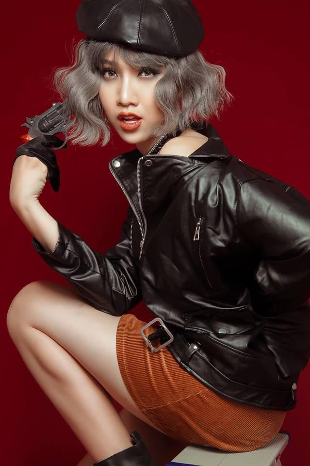 Hôm trước còn là song sinh của Thúy Ngân, hôm nay hoa hậu chuyển giới Nhật Hà đã lại giống Bảo Thy như lột-1
