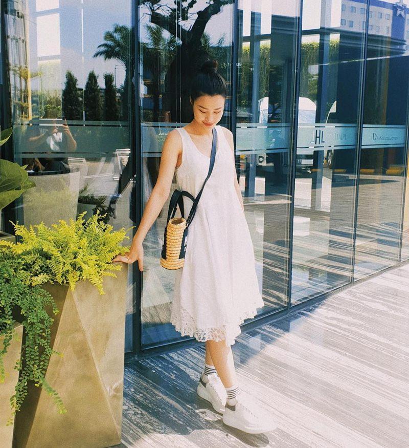 STREET STYLE sao Việt: Tăng Thanh Hà - Kỳ Duyên - Hòa Minzy lên đồ một màu vẫn chất lừ dịp đầu hè-5