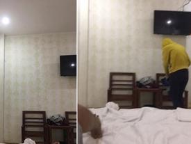 Vợ phát hiện ảnh chồng chụp gái ngành trong nhà nghỉ