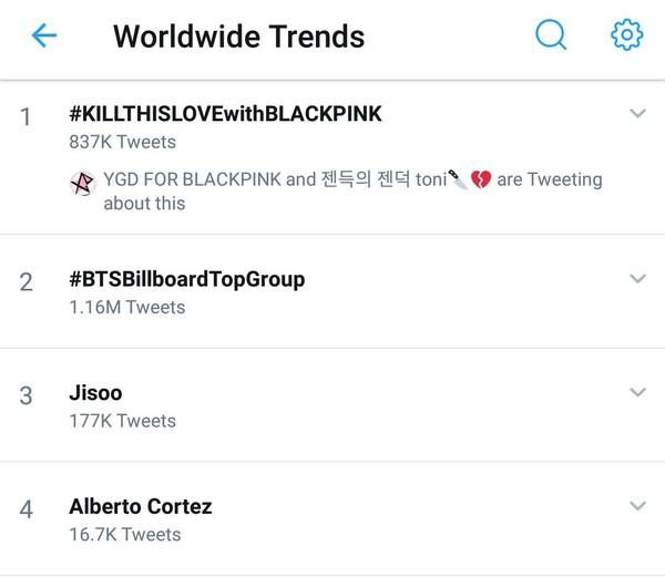 Comeback chưa đầy 1 tiếng, BlackPink đã có kỷ lục thế giới với MV Kill This Love-3