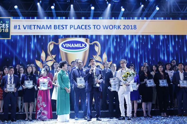 Vinamilk 2 năm liên tiếp là nơi làm việc tốt nhất Việt Nam-1
