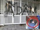 Nhà cựu Viện phó VKS TP Đà Nẵng bị xịt chữ 'ẤU DÂM' bằng sơn lên cổng sau vụ sàm sỡ bé gái trong thang máy