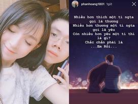 Phan Hoàng liên tục nói lời thương nhớ, muốn hàn gắn tình cảm với bạn gái xinh đẹp?