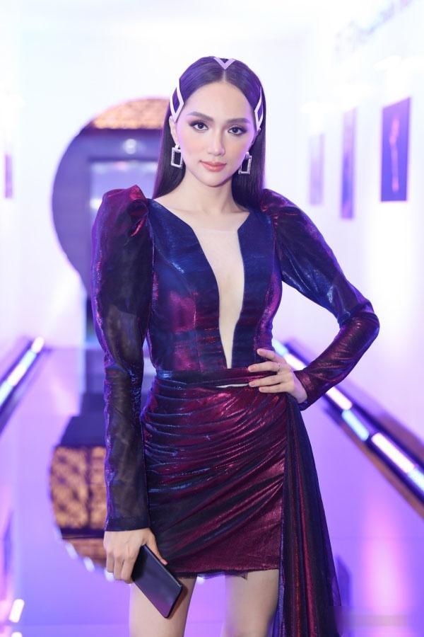 Chẳng hẹn mà mặc, Bích Phương - Mỹ Tâm - Hương Giang lăng xê trang phục sắc tím đẹp ngất ngây thảm đỏ tuần qua-3