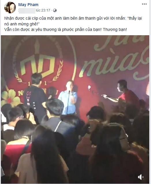 Phạm Anh Khoa hát trong tiếng reo hò của khán giả, bà xã vui mừng bởi chồng vẫn được yêu thương sau bê bối gạ tình-2