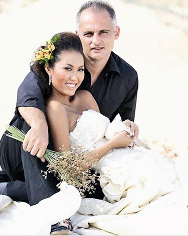 Người đẹp Việt và những cuộc tình kẻ khóc người cười với chồng Tây-2
