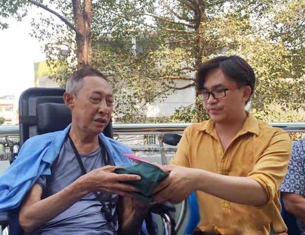 MC Đại Nghĩa trao hơn 270 triệu cho nghệ sĩ Lê Bình chữa ung thư-1