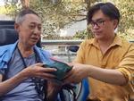 Dù bản thân đang bệnh nặng, cách nghệ sĩ Lê Bình chia sẻ nỗi đau với diễn viên Hoàng Lan vẫn khiến nhiều người rơi lệ-8