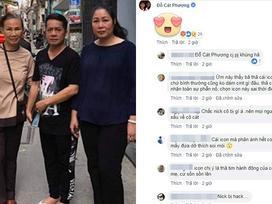 Sự thật việc Cát Phượng thả icon mặt cười dưới status mà NSND Hồng Vân chia sẻ về Anh Vũ