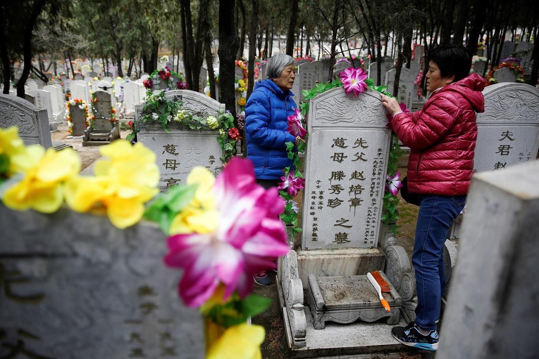 Cảnh tượng như phim cổ trang tại Trung Quốc vào tiết Thanh Minh-1
