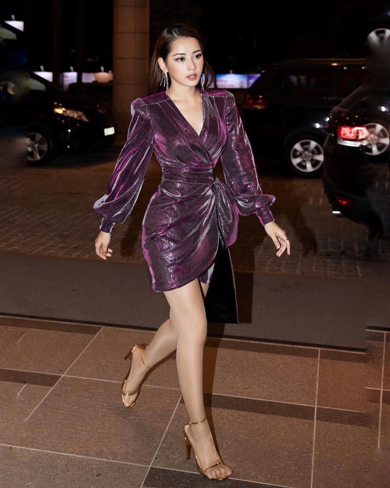 Chẳng hẹn mà mặc, Bích Phương - Mỹ Tâm - Hương Giang lăng xê trang phục sắc tím đẹp ngất ngây thảm đỏ tuần qua-5