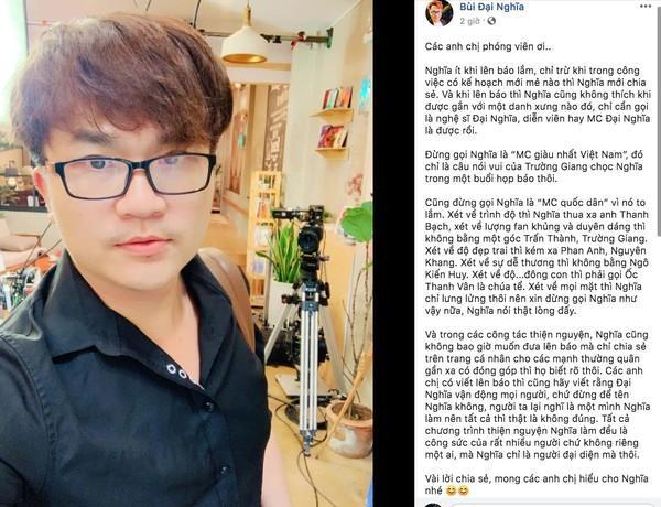 MC Đại Nghĩa: Đừng gọi tôi là MC giàu nhất Việt Nam!-4