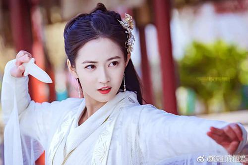 Nhan sắc và khả năng diễn xuất của 7 mỹ nhân Hoa ngữ trong vai cổ trang đầu tay-4