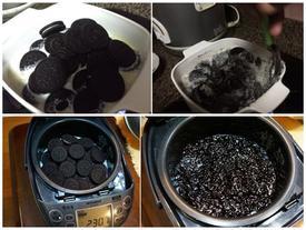 Cái kết bất ngờ khi nấu cơm với bánh Oreo
