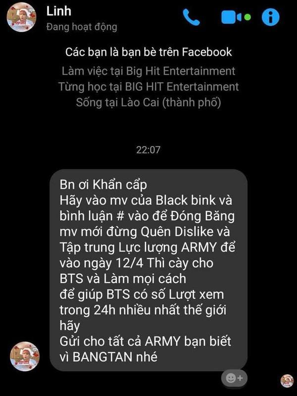 Xôn xao tin đồn fan BTS kêu gọi spam MV BlackPink, đóng băng lượt view Kill This Love-1