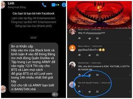 Xôn xao tin đồn fan BTS kêu gọi spam MV BlackPink, 'đóng băng' lượt view 'Kill This Love'