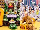 Thúy Nga và Phật tử tụng kinh, cầu siêu cho Anh Vũ ở chùa
