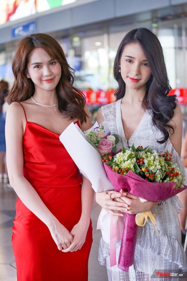 2 nhan sắc ngây thơ đình đám hội ngộ: Phần thắng nghiêng về Ngọc Trinh hay thần tiên tỉ tỉ Thái Lan?-2