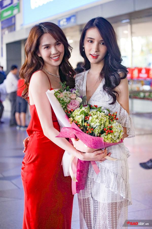 2 nhan sắc ngây thơ đình đám hội ngộ: Phần thắng nghiêng về Ngọc Trinh hay thần tiên tỉ tỉ Thái Lan?-3