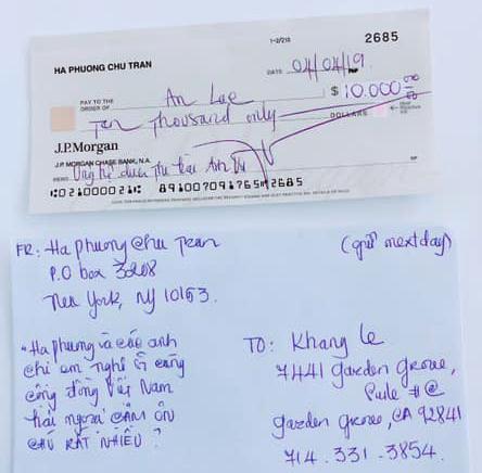 Bị nghi chưa trả 10.000 USD tài trợ đưa thi thể Anh Vũ về quê như lời hứa, nữ ca sĩ tỷ phú Hà Phương trình hóa đơn rõ ràng-3