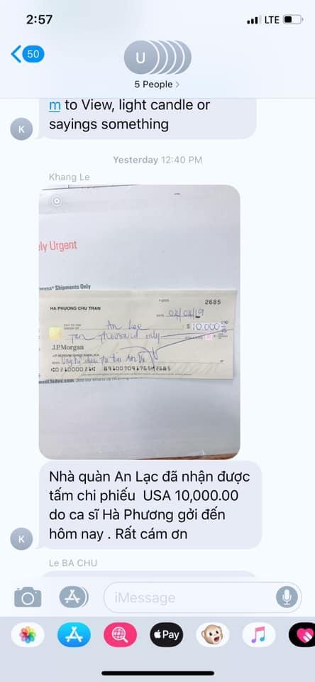 Bị nghi chưa trả 10.000 USD tài trợ đưa thi thể Anh Vũ về quê như lời hứa, nữ ca sĩ tỷ phú Hà Phương trình hóa đơn rõ ràng-2