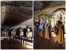 Cụm hang động có vô số tranh, tượng Phật tồn tại 22 thế kỷ ở Sri Lanka