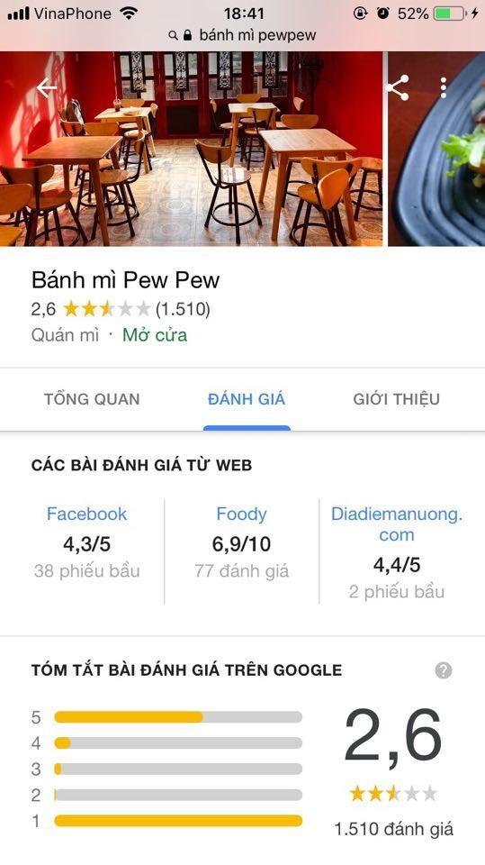 Chỉ 1 status về vụ Khoa Pug, bánh mì PewPew nhận ngay gần 2.000 report 1 sao, rớt hạng nghiêm trọng-5
