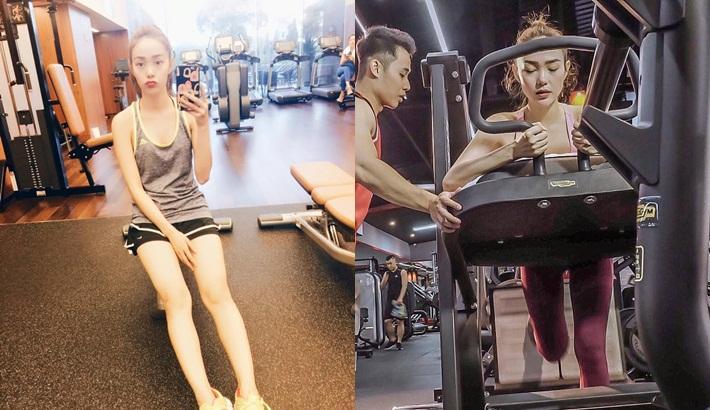 Đẹp tự nhiên nhưng không tự nhiên mà đẹp: Sao Việt thay da đổi thịt hấp dẫn bất ngờ nhờ tập thể hình-14