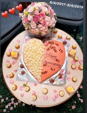 Chiều Ngọc Trinh như bạn trai lớn tuổi: Biến căn phòng mỹ nhân thành pink room để kỷ niệm 2 năm ngày yêu-1