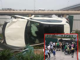 Tai nạn kinh hoàng ở Cầu Giấy, Hà Nội: Nữ tài xế lái Mercedes tông loạt xe máy, nhiều người hoảng loạn