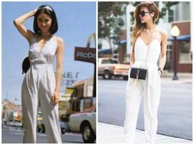 Ngạc nhiên khi thời trang thập niên 80 vẫn còn thịnh đến ngày nay