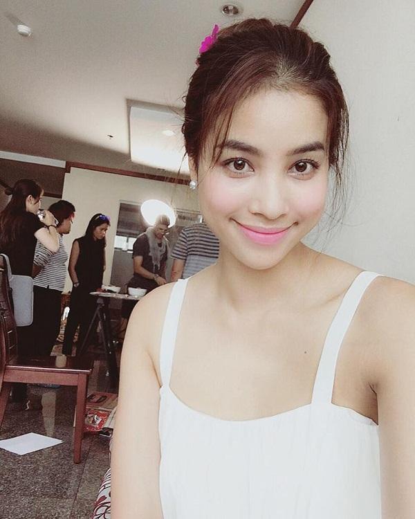 Điểm đặc biệt của hoa hậu Phạm Hương từ khi sang Mỹ: Mạnh dạn khoe mặt mộc 100% bất chấp khen chê-9