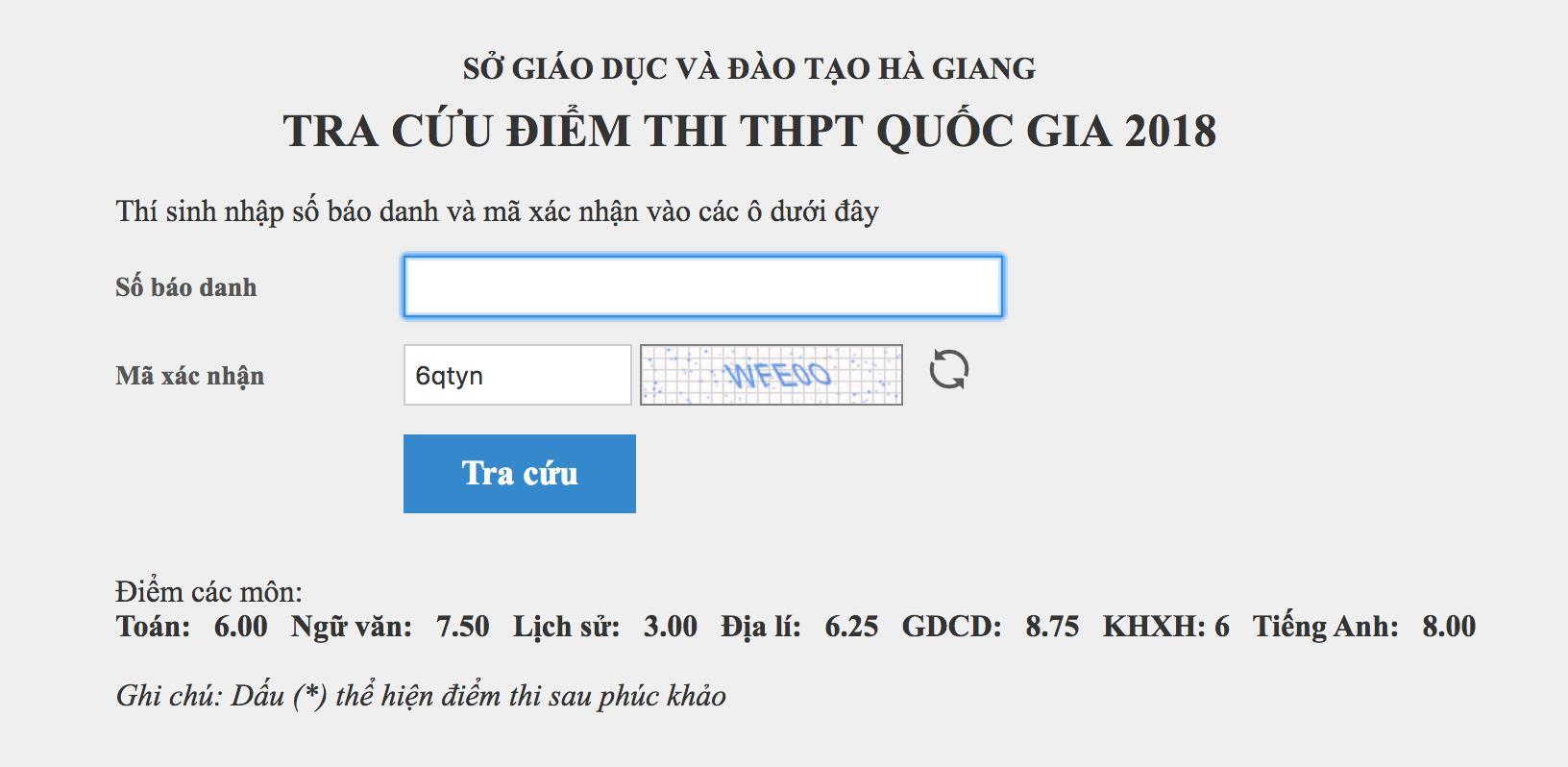 Nhiều thí sinh được nâng điểm ở Hà Giang là con cháu lãnh đạo?-2