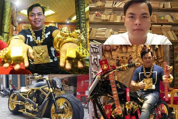 Khối tài sản 'khủng khiếp' của đại gia đeo nhiều vàng nhất Việt Nam vừa bị bắt vì nghi buôn bán ma túy