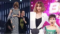 Từng bị mẫu nữ 1m90 'dìm hàng' thê thảm, Việt Hương vẫn chẳng ngại so kè dáng vóc 'nấm lùn' top 1 showbiz Việt