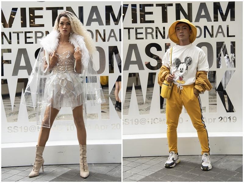 Ngắm những bộ cánh street style ngày đầu Vietnam International Fashion Week mà tưởng Halloween đến sớm nửa năm-11