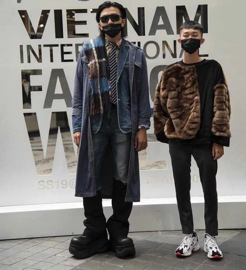 Ngắm những bộ cánh street style ngày đầu Vietnam International Fashion Week mà tưởng Halloween đến sớm nửa năm-13