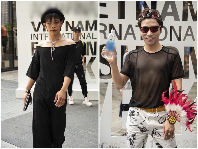 Ngắm những bộ cánh street style ngày đầu Vietnam International Fashion Week mà tưởng Halloween đến sớm nửa năm-14