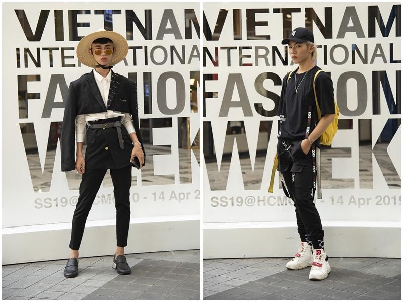 Ngắm những bộ cánh street style ngày đầu Vietnam International Fashion Week mà tưởng Halloween đến sớm nửa năm-15