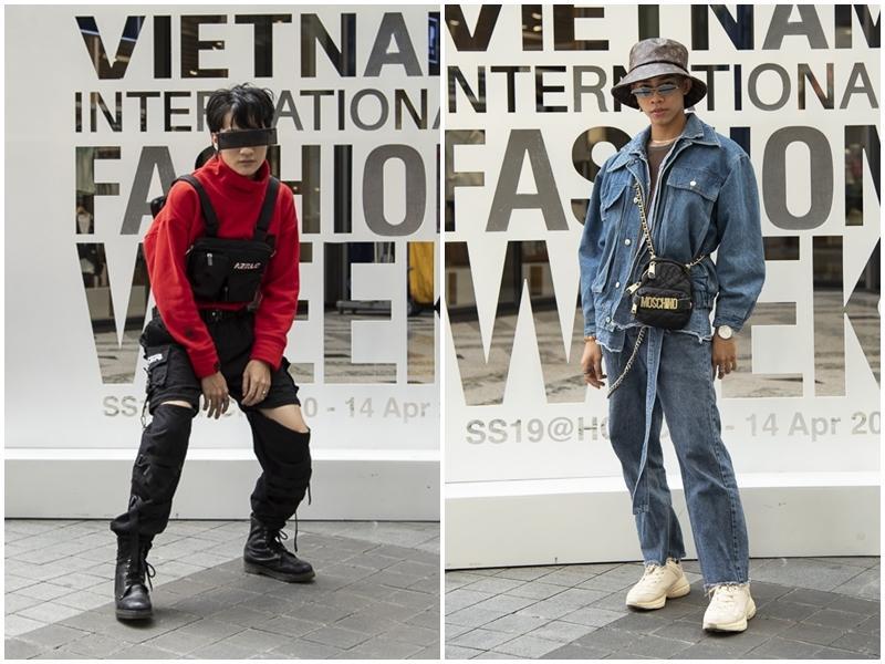Ngắm những bộ cánh street style ngày đầu Vietnam International Fashion Week mà tưởng Halloween đến sớm nửa năm-16