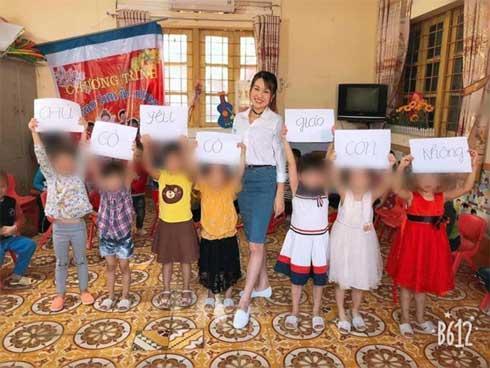 Dân mạng bức xúc khi cô giáo mầm non nhờ học trò thả thính hộ-1