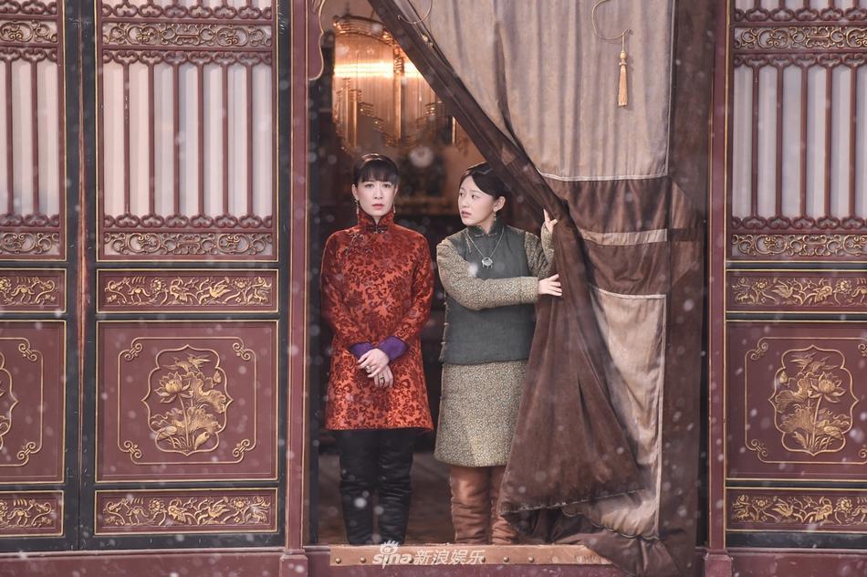 Xa Thi Mạn và Huỳnh Hiểu Minh đẹp hết phần thiên hạ trong tạo hình thời dân quốc-5