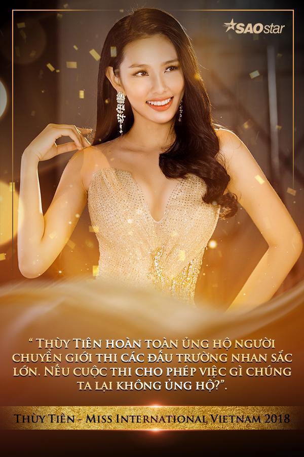 Người đẹp chuyển giới thi đấu trường nhan sắc Big 6: Các hoa hậu Việt Nam 100% ủng hộ?-6