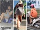 NÓNG MẮT với những bộ trang phục hớ hênh khi ra đường của các chị em phụ nữ